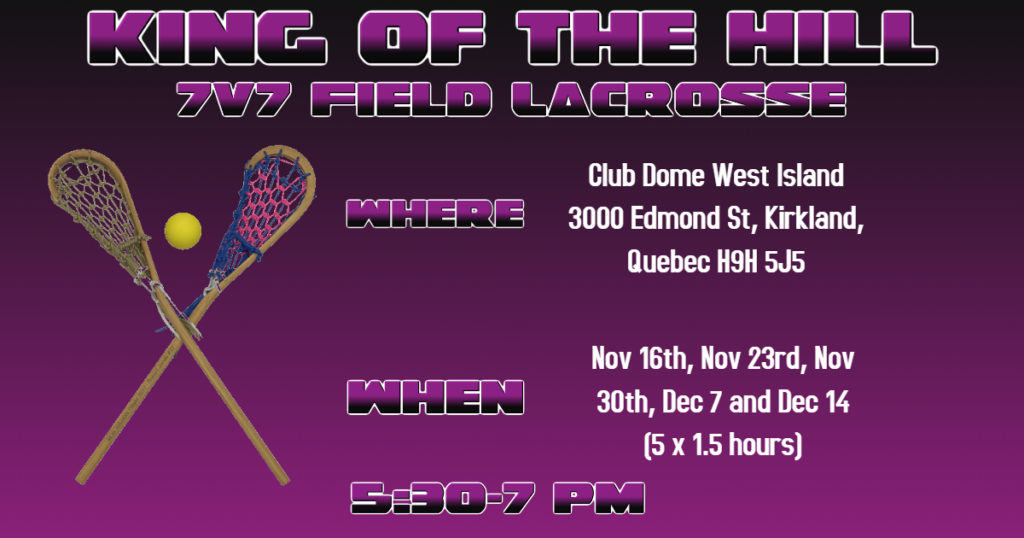 King of the Hill Lacrosse