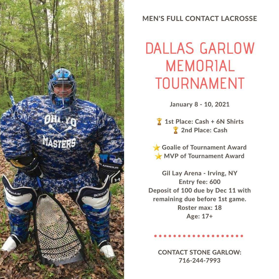 Dallas Garlow Memorial Tournament